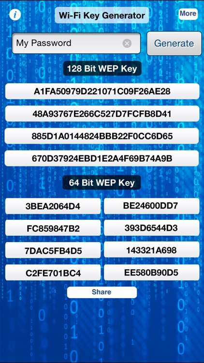 iWep Generator Pro - WiFi Passwords