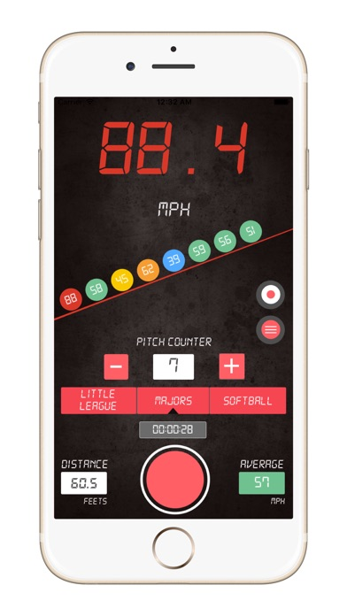 download Baseball Pitch Speed Radar Gun apps 1