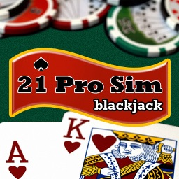 Blackjack 21 Professional Simulator (21 Pro Sim) (Vegas Casino Fun)