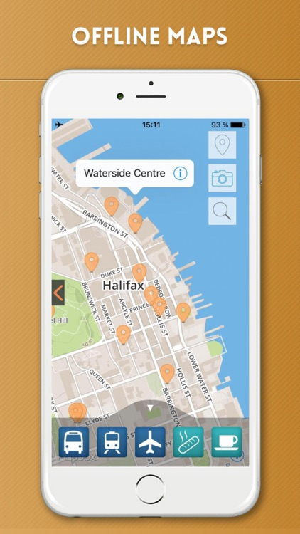 Halifax Travel Guide with Offline City Street Map screenshot-4