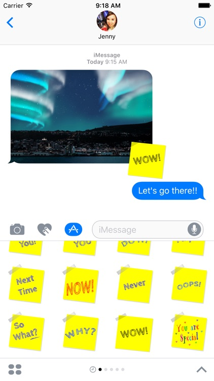 Sticky Notes for iMessage screenshot-3