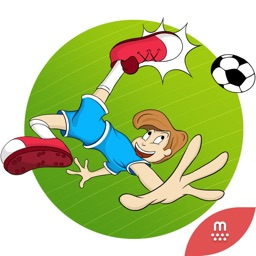 Soccer stickers by Esra for iMessage