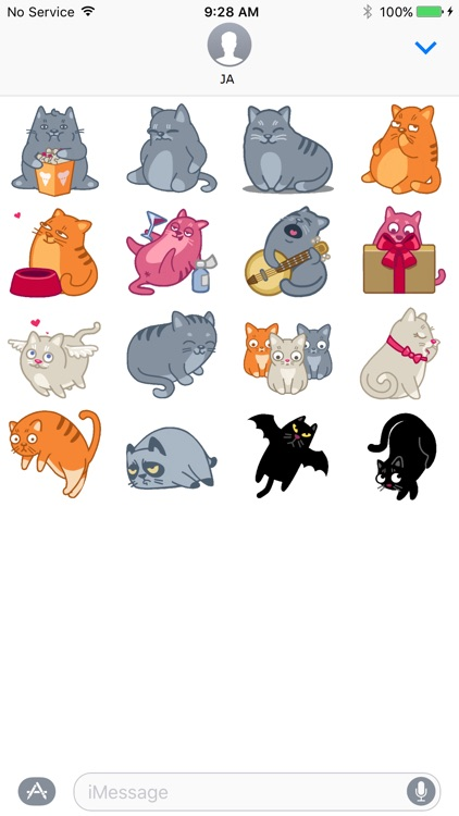 Cat Animation Sticker 3