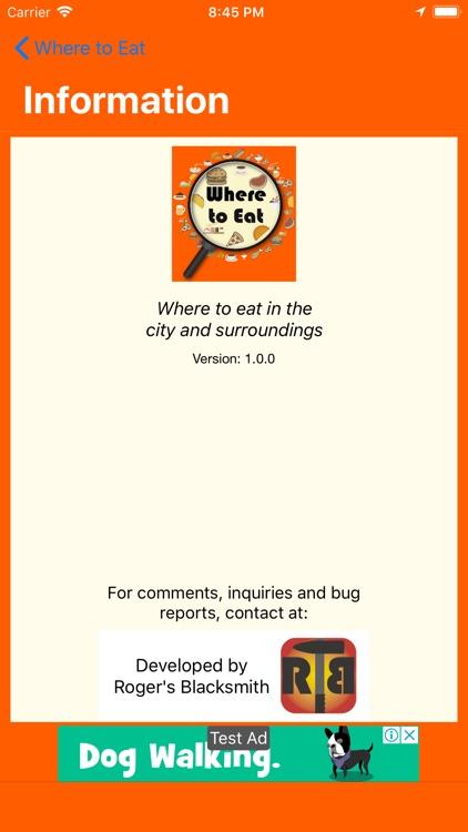 Where to Eat (Donde Comer) screenshot-7