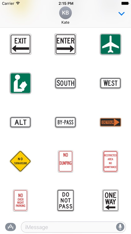 SignMoji: US Road Signs 2 screenshot-3