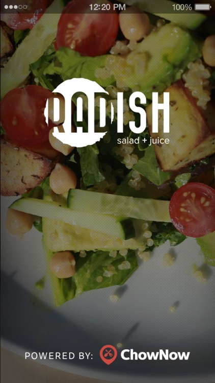 Radish Salad + Juice