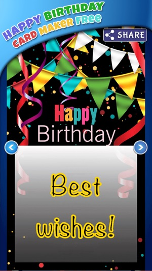 Happy birthday card maker freebday greeting cards on the app store bookmarktalkfo Image collections