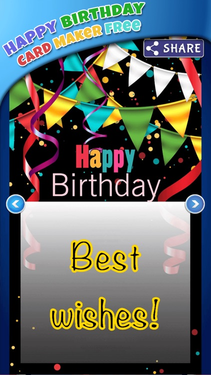Happy birthday card maker freebday greeting cards by marko markovic happy birthday card maker freebday greeting cards bookmarktalkfo Images