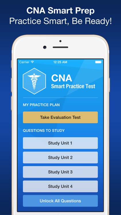 CNA Smart Exam Prep - Practice Test & Study screenshot-0