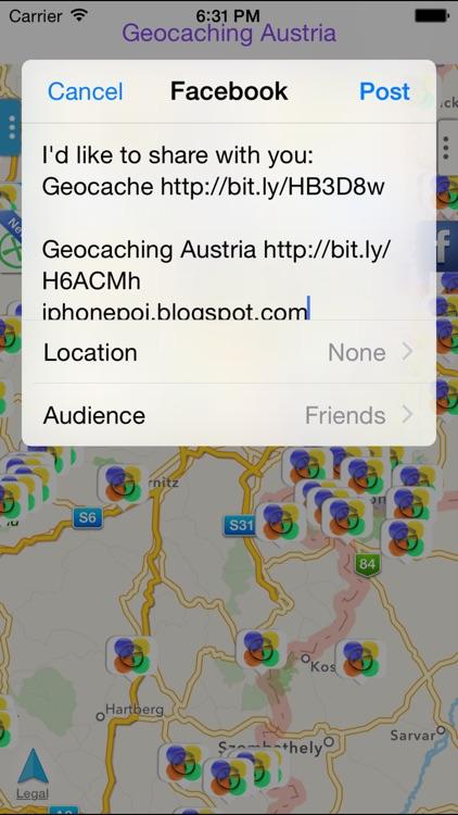 Geocaching Austria screenshot-3