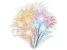Fireworks Stickers is the perfect stickers pack to share with your friends on a celebration to make a fireworks show