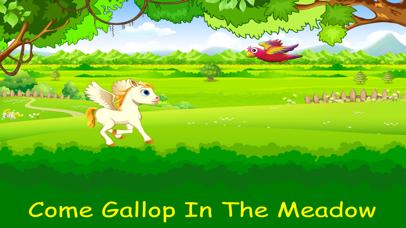 Princess Unicorn Run Screenshot on iOS