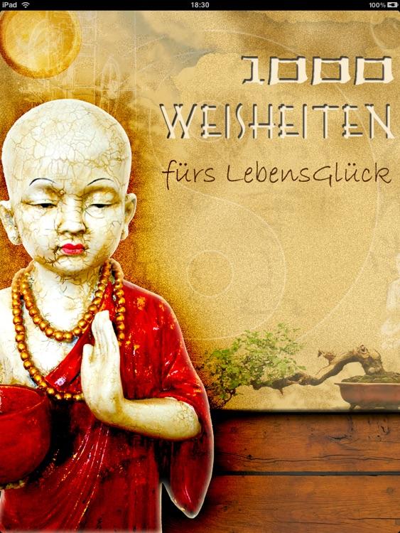 1000 Weisheiten zum Glücklichsein