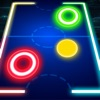 Glow Air Hockey : 2Players Free game mobile HD Ranking
