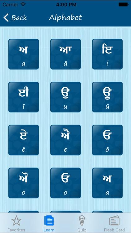 Learn Punjabi Quickly Pro screenshot-4