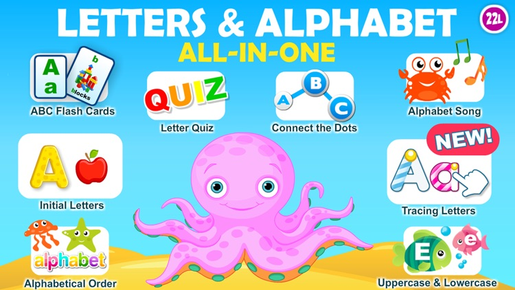 Letter quiz • Alphabet School & ABC Games 4 Kids
