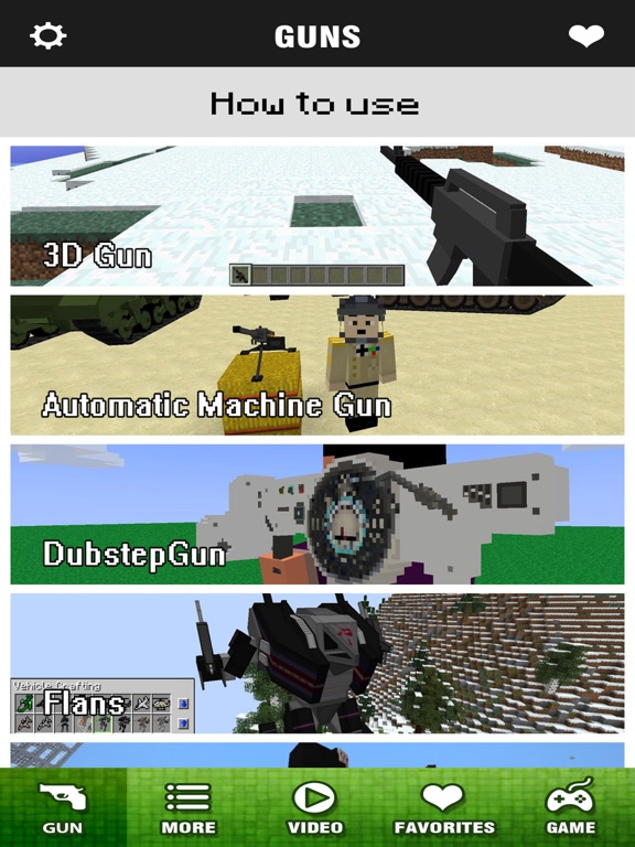 Block Gun Mod Pro - Best 3D Guns Mods Guides for Minecraft PC Edition | App  Price Drops