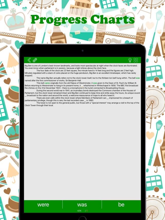 Englische Verben: Pro Screenshot
