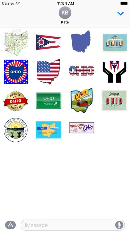 Ohio Stickers
