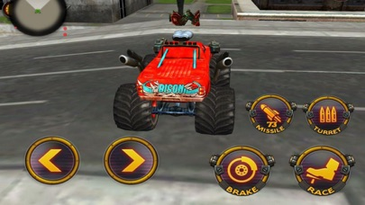 Robot Battle Car: CITY WAR screenshot two