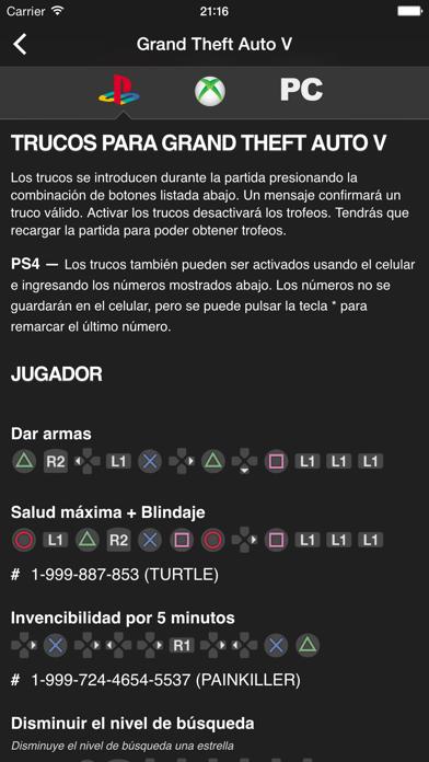 Descargar Cheats for GTA - Trucos para todos los juegos de Grand Theft Auto para Android