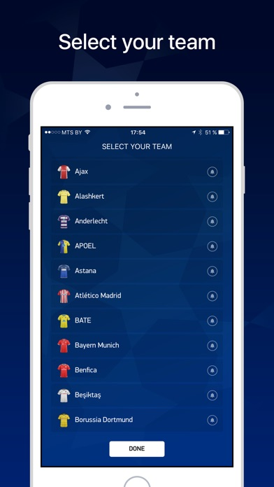 League Live – Scores & News screenshot two