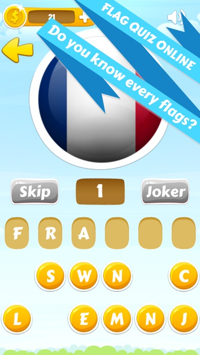 Download Flag quiz online, world flags game for Pc