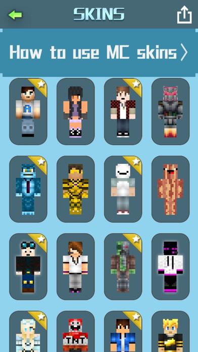 Cube Youtuber Skins For Minecraft Pocket Edition - Skins para minecraft pe youtuber