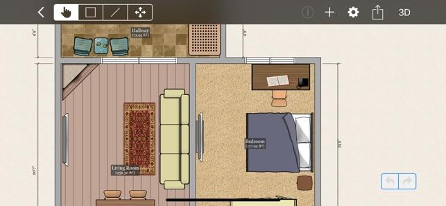 screenshots - App To Design A House