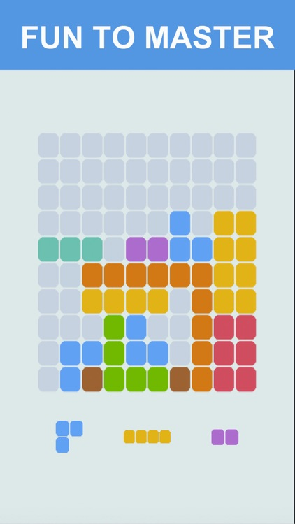 1010 Color Block Puzzle Free to Fit : Logic Stack Dots Hexagon