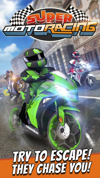 Super Moto Racing: Crazy Motorbike Driving Games