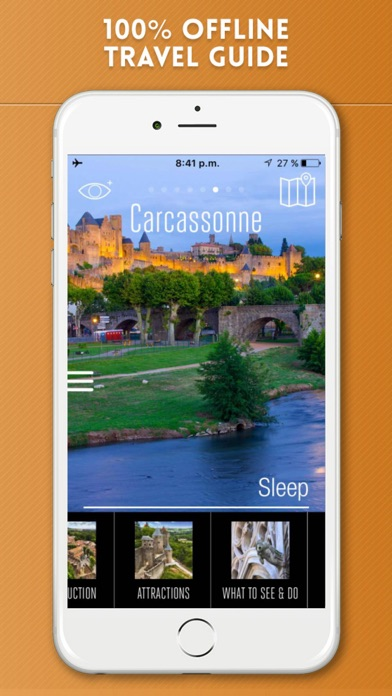 Carcassonne Travel Guide and Offline City Map