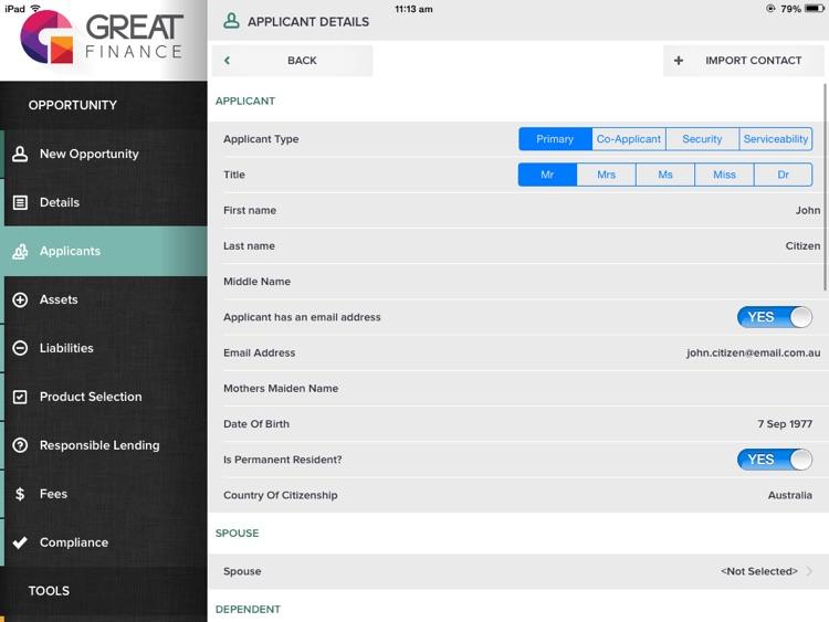 FLEX for iPad screenshot-4