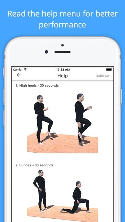 12 Min Snowboard Workout Challenge PRO - Slope Fit screenshot-4