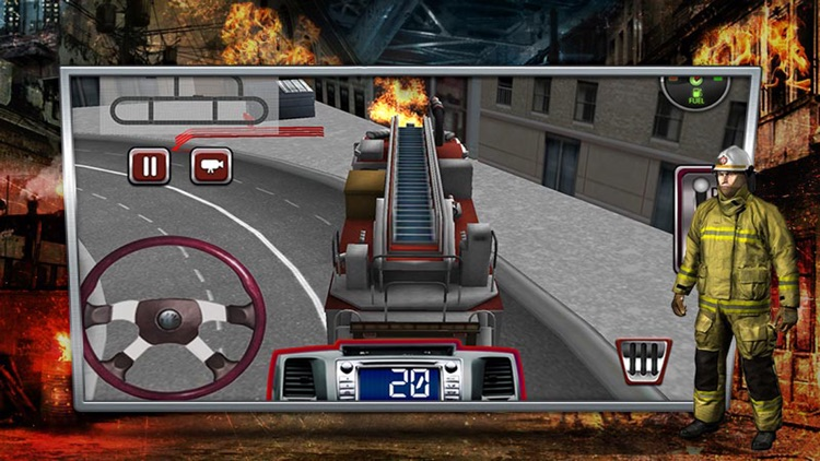 Fire Truck Simulator – Real Firefighter Simulation by
