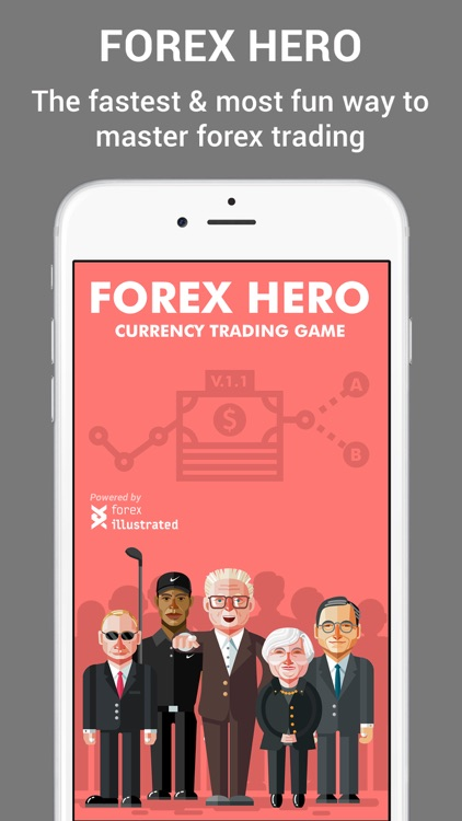 Forex Hero – trading game screenshot-0