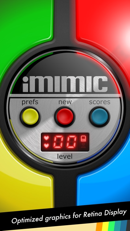 iMimic: 80's Vintage Electronic Memory Game