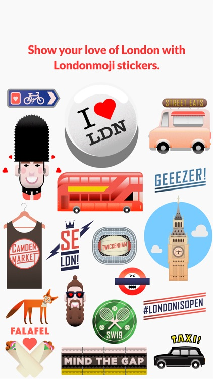 Londonmoji - London emoji-stickers! screenshot-0