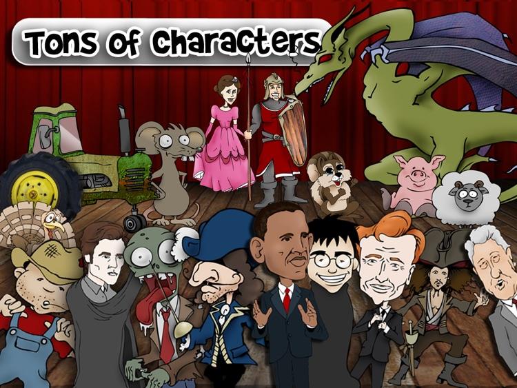 Puppet Pals HD Director's Pass screenshot-3
