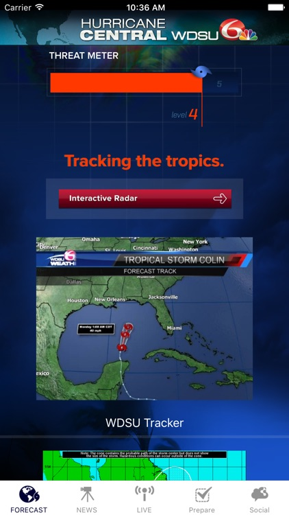 Hurricane Central WDSU screenshot-0