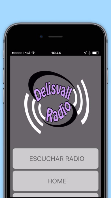Delisvallradio App screenshot 2