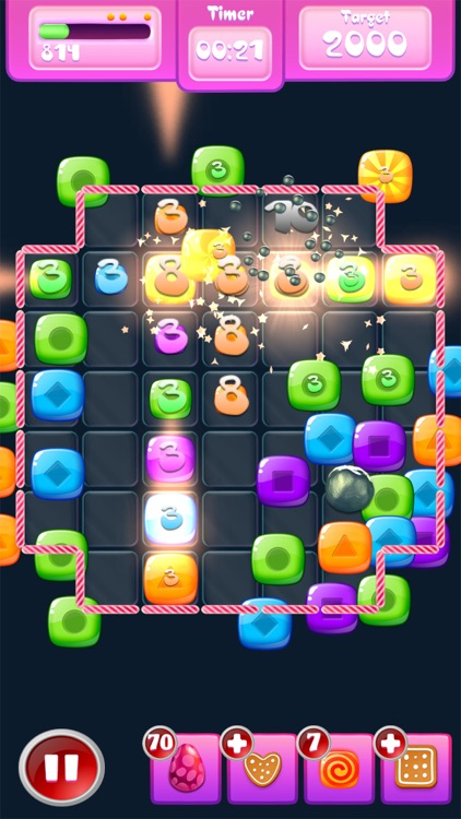 Mega Candy: A Match-3 game screenshot-4