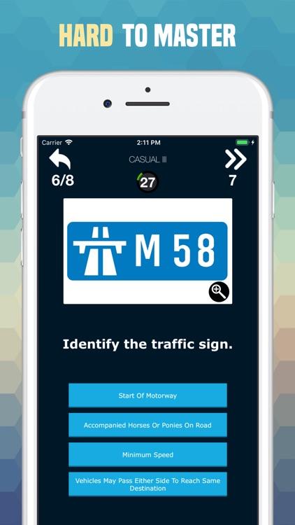 Traffic Sign Quiz: Road Trivia screenshot-4