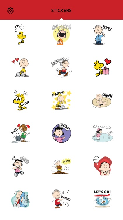 Peanuts Emoji screenshot-2