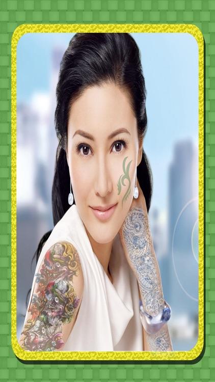Tattoo on Photo free