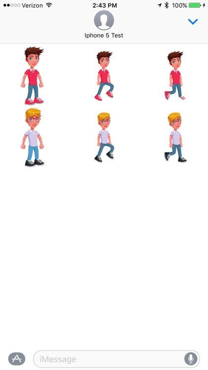 Go Boy - Sticker Pack