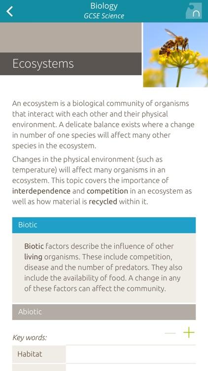 Biology: GCSE Science screenshot-3