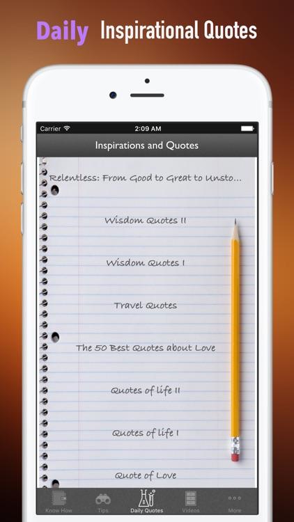 Quick Wisdom from Relentless:Practical Guide- screenshot-4