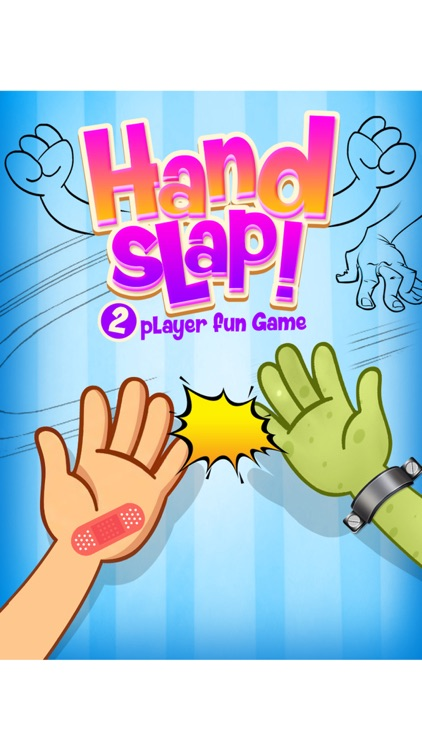 Hand Slap Two Player Fun Game