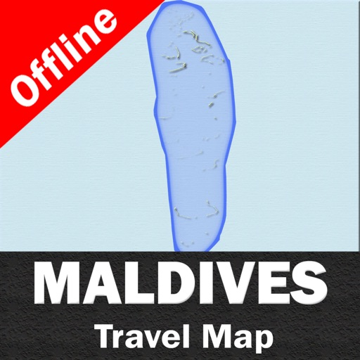MALDIVES – GPS Travel Map Offline Navigator